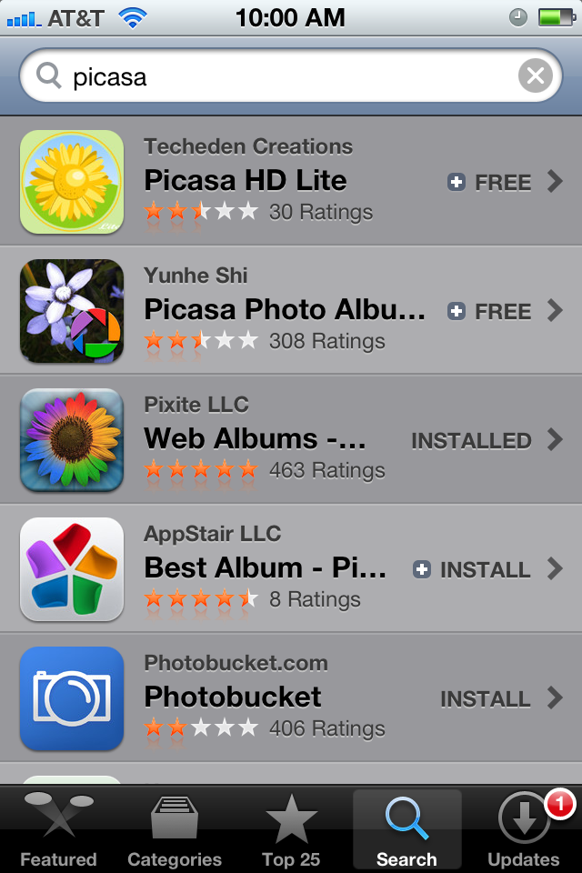 iOS 5 App Store Screenshot